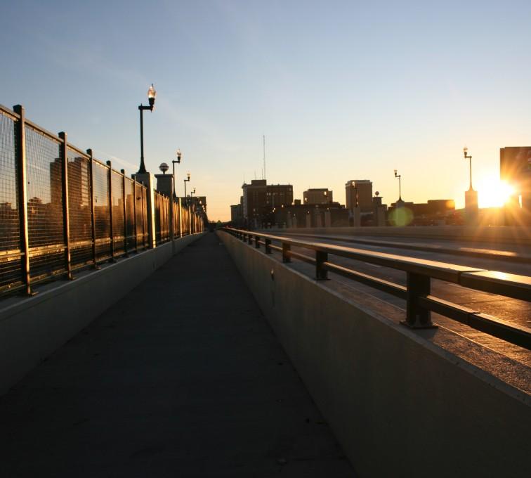 AFC Sioux City - Bridge wire mesh fencing