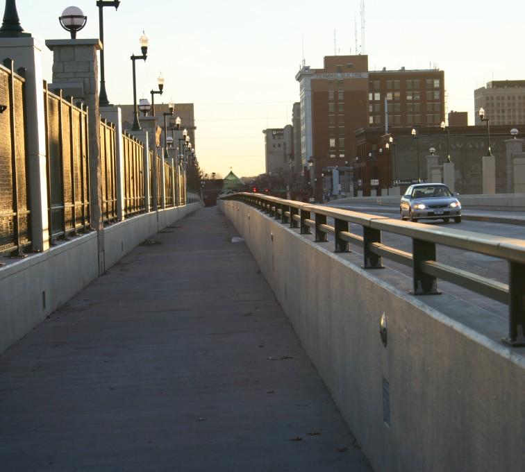 AFC Sioux City - Custom bridge railing