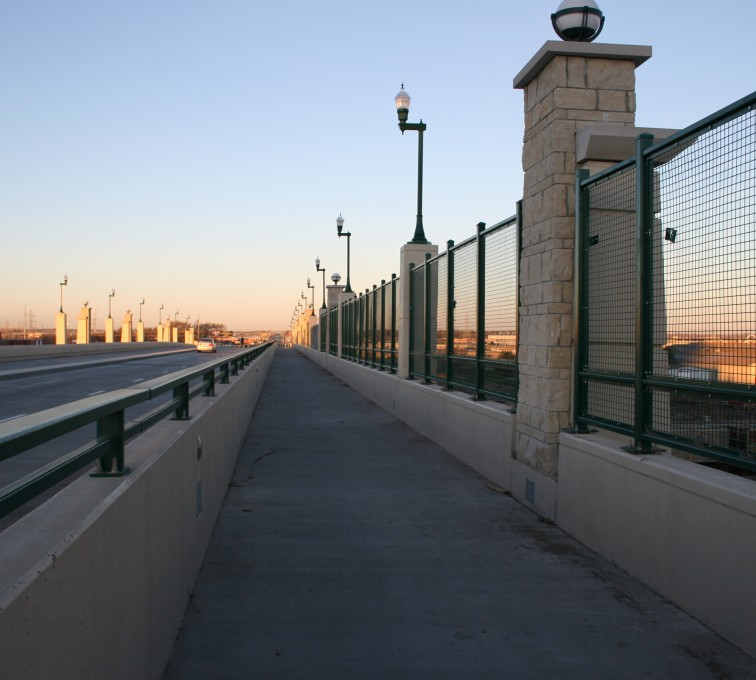 AFC Sioux City - Custom Wire Lined Railing