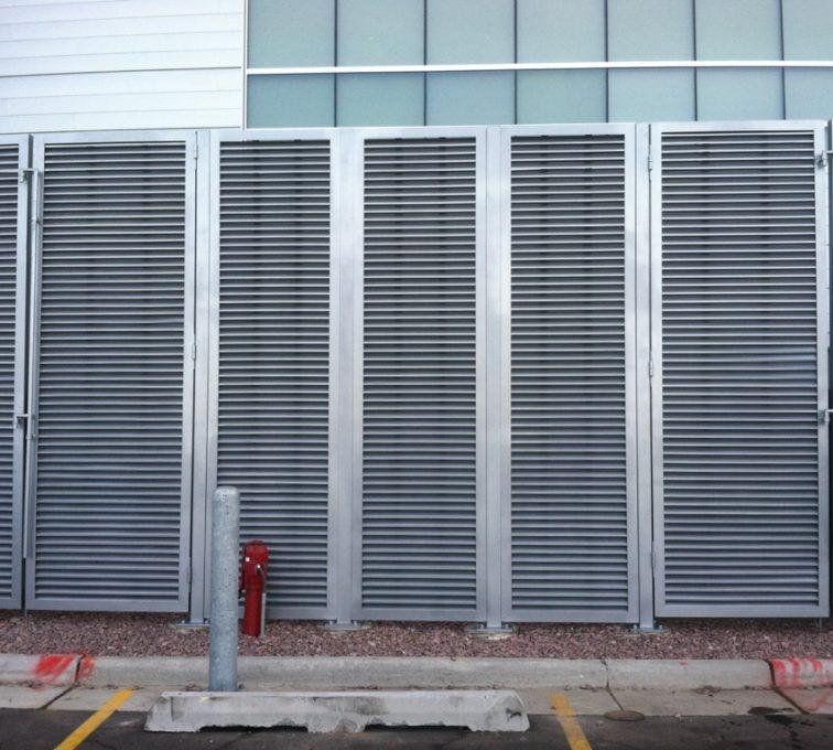 AFC Sioux City - Aluminum Louvered Panels