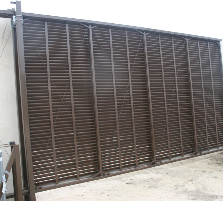 AFC Sioux City - Louvered Fencing System