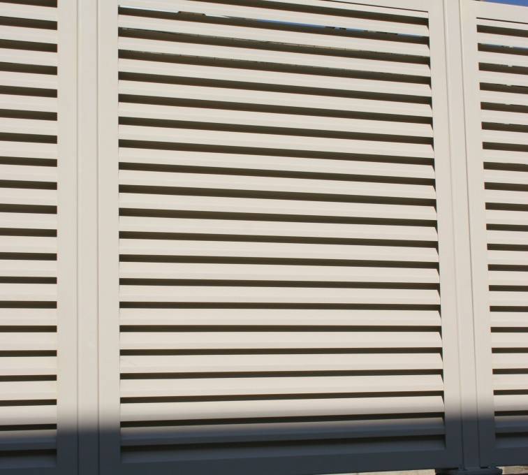 AFC Sioux City - Tan Louvered Panel