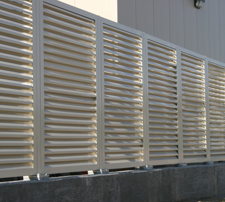 AFC Sioux City - Industrial Louvered Panel System