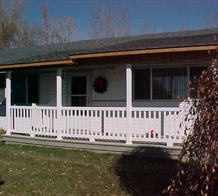 AFC Sioux City - Residential white railing