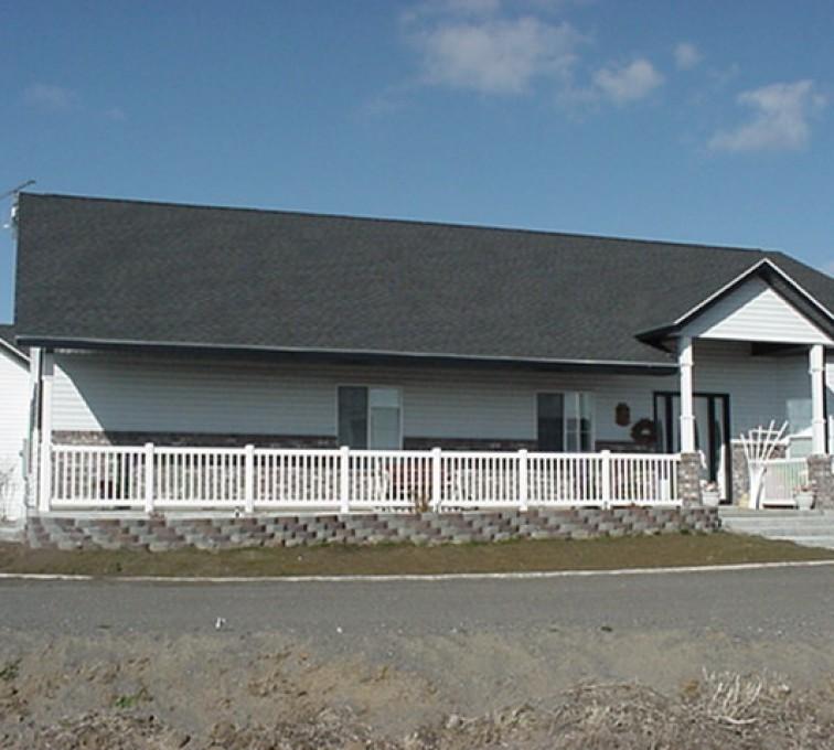 AFC Sioux City - House white porch railing