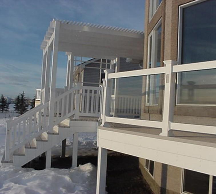 AFC Sioux City - Porch railing