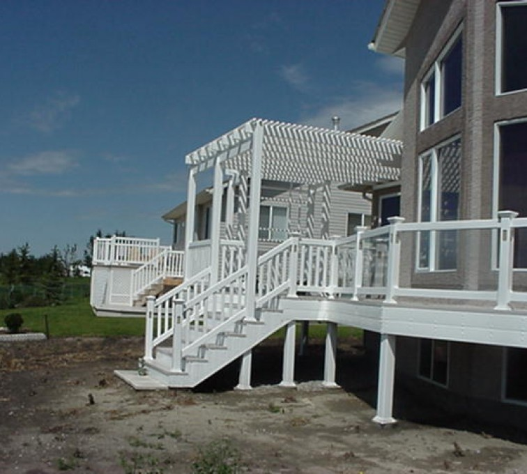 AFC Sioux City - Residential porch railing