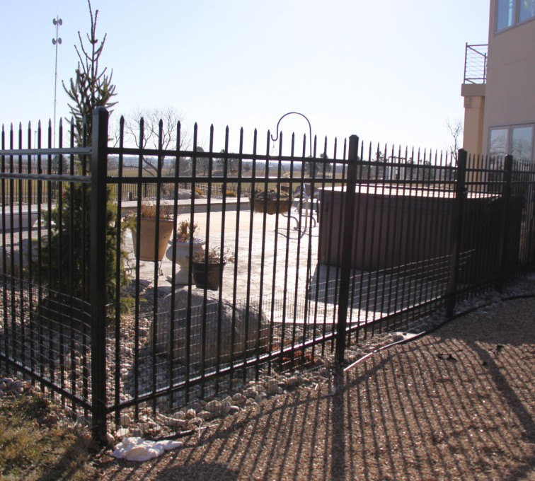 AFC Sioux City - Residential Spear Top Ornamental Fence