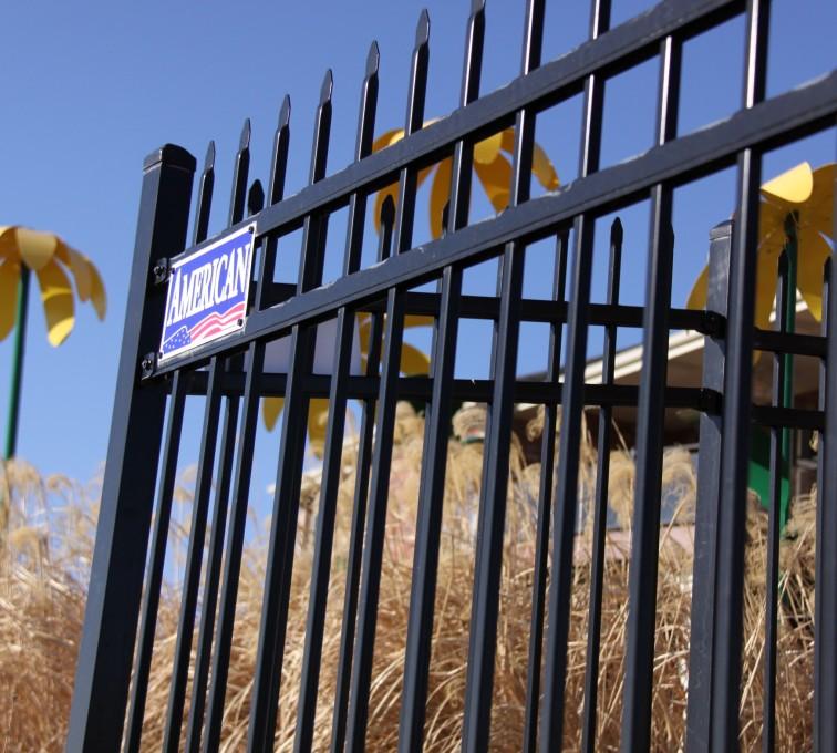 AFC Sioux City - Black residential Ornamental Fencing
