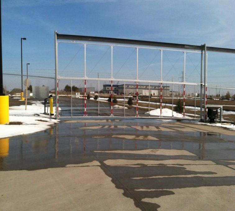 AFC Sioux City - Overhead Custom Track Gate