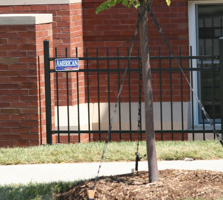 AFC Sioux City - Ornamental Iron Fence And Columns