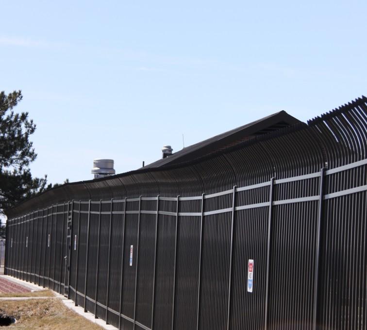 AFC Sioux City - Ornamental High Security Fence