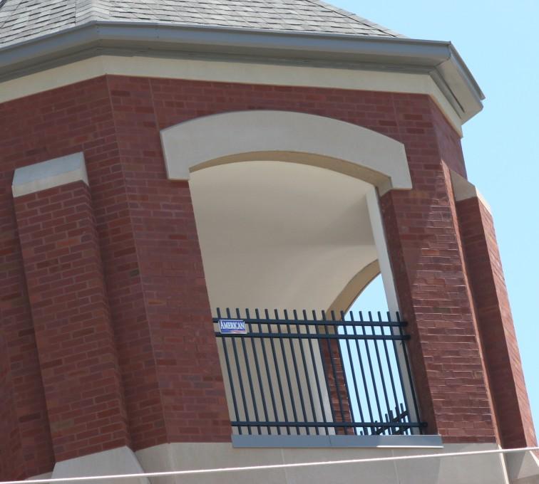 AFC Sioux City - Ornamental Iron Fence In Bell Tower