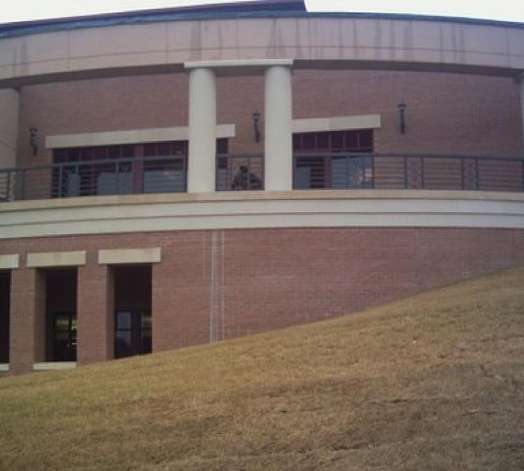 AFC Sioux City - Building with Custom diamond Railing