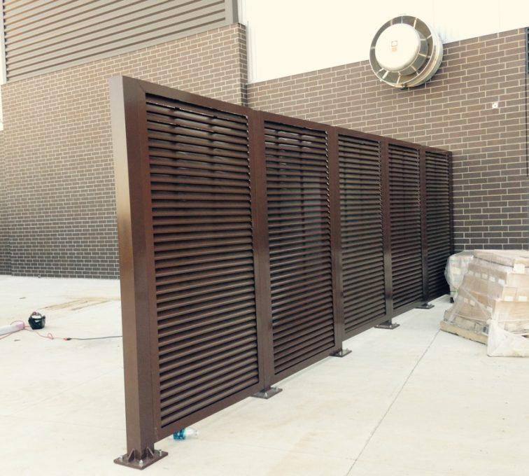 AFC Sioux City - PalmSHIELD Louvers SDSU Fence Line