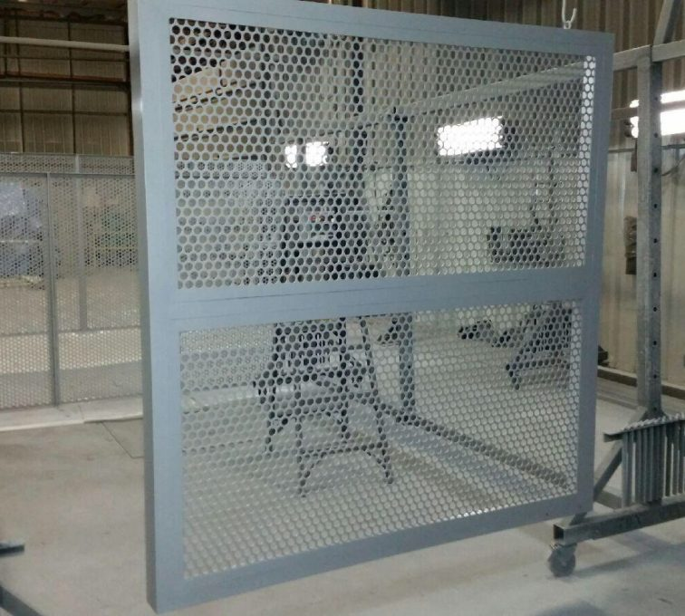 AFC Sioux City - Aluminum Perforated Screen