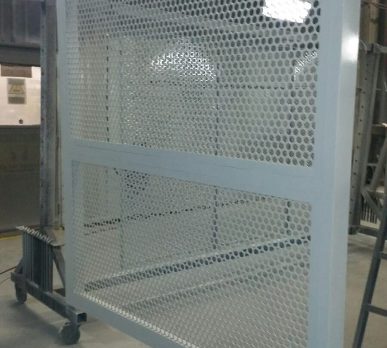 AFC Sioux City - Perforated screen panel