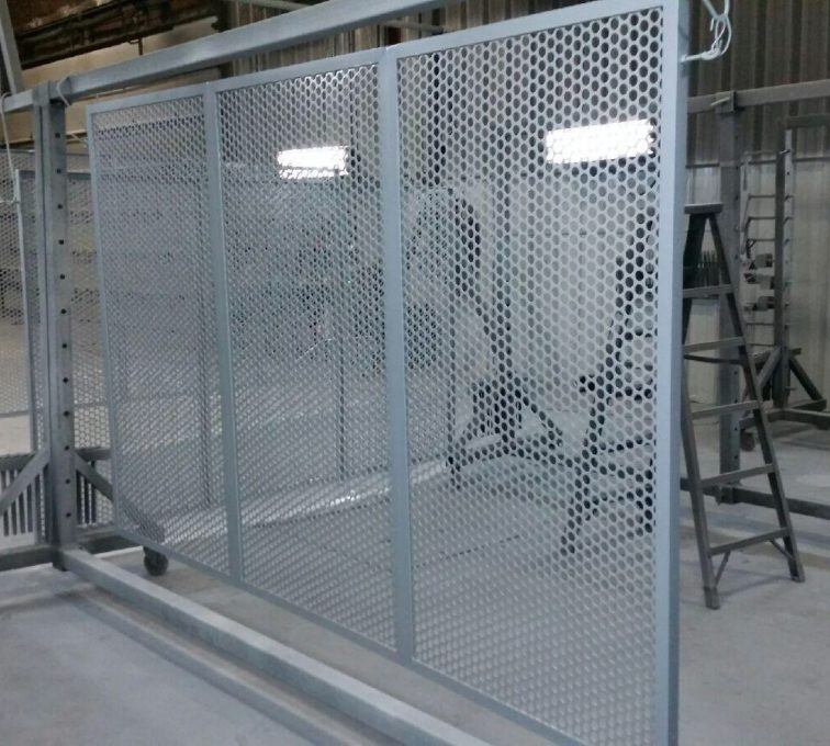 AFC Sioux City - Circular Perforated screen