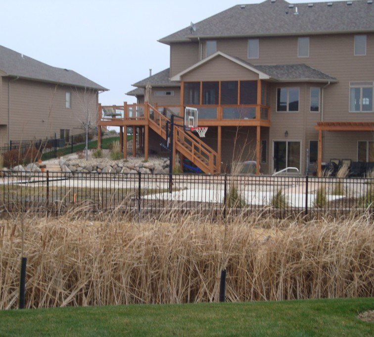 AFC Sioux City - Residential Flat Top Ornamental Iron Fence