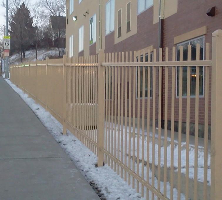 AFC Sioux City - Sandstone Ornamental Fence