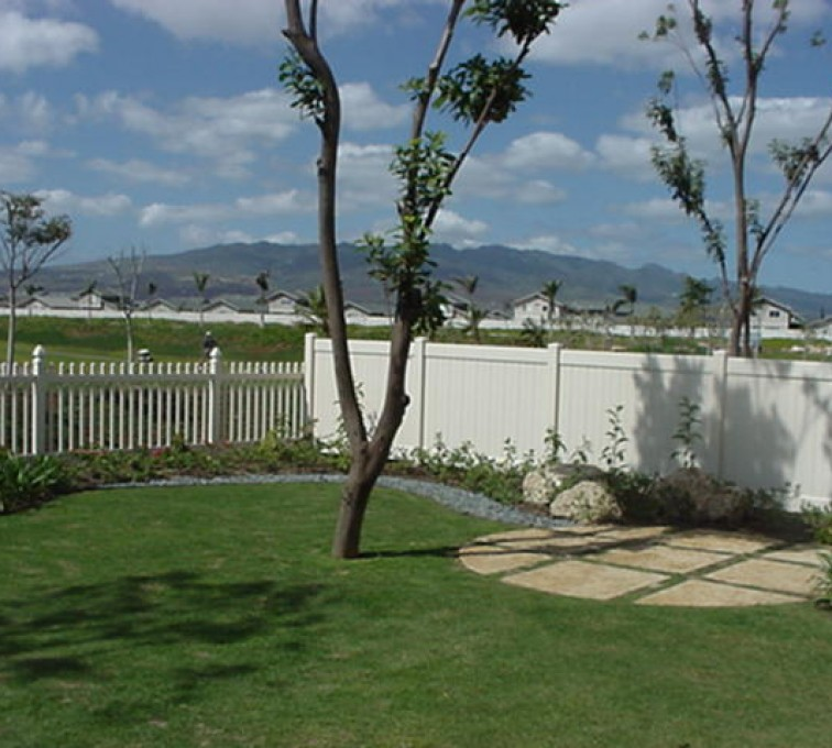 AFC Sioux City - Vinyl Picket and Solid Privacy Fence