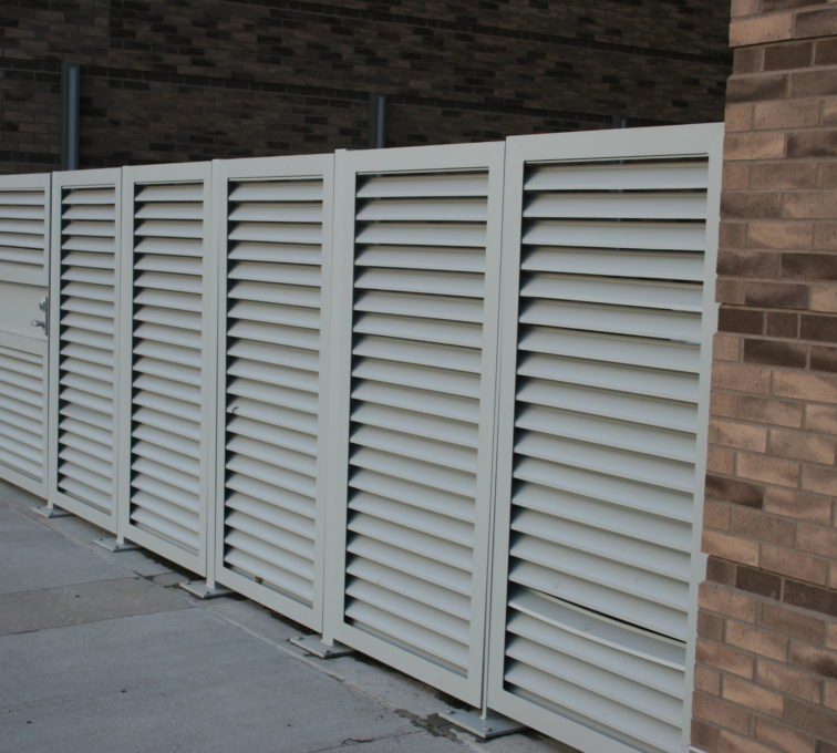 AFC Sioux City - Louver System for TD Ameritrade