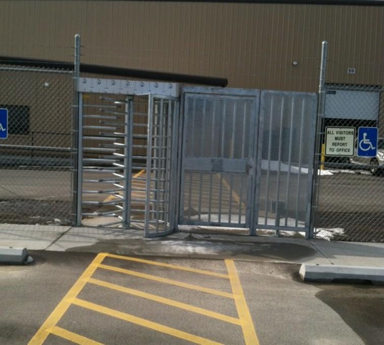 AFC Sioux City - Building Entrance Turnstile