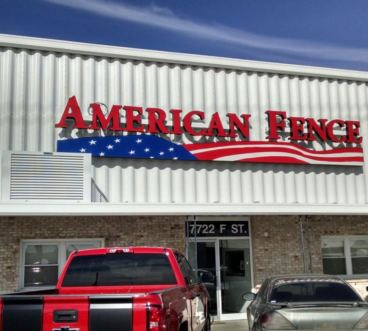 AFC Sioux City - Louvered air conditioning enclosure