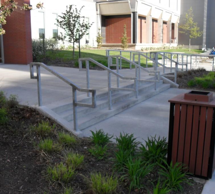 AFC Sioux City - University of Nebraska Lincoln Custom Handrail