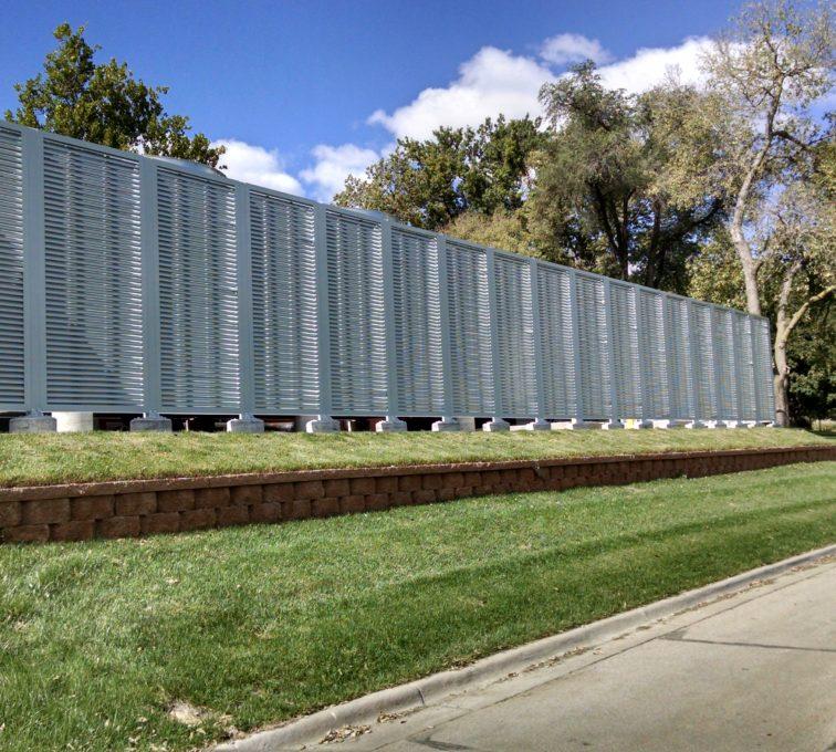 AFC Sioux City - University of Nebraska Medical Center Louvered Screening