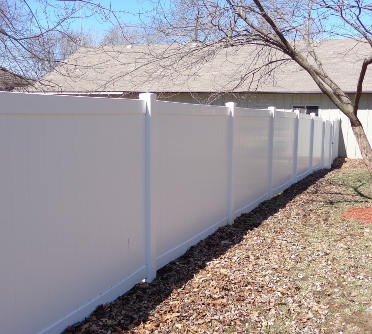 AFC Sioux City - 6' PVC Privacy Fence