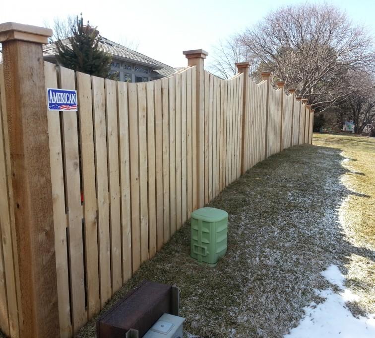 AFC Sioux City - Wood Fencing, Custom Wood 9922 Devonshire