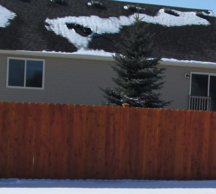 AFC Sioux City - Wood Fencing, Solid Privacy