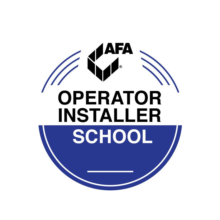 Operator installer school logo
